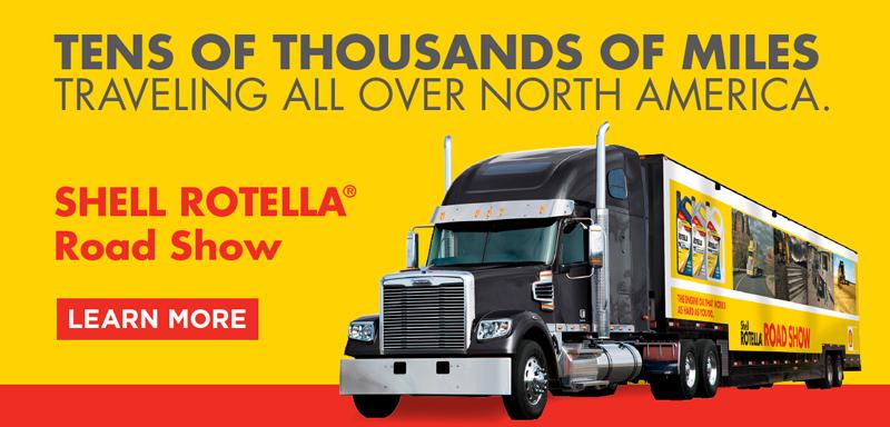 Shell Rotella Road Show