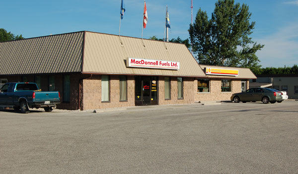 MacDonnell Fuels lube store