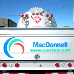 MacDonnell Fuels truck