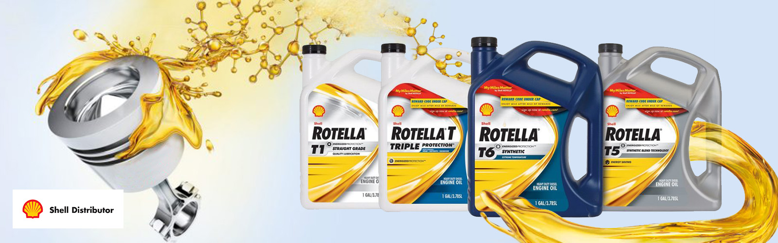 MacDonnell Fuels is a Shell Rotella T Distributor