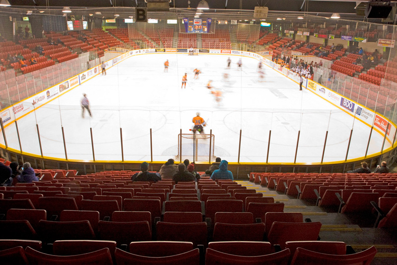 Harry Lumley Bayshore Arena Sponsorship